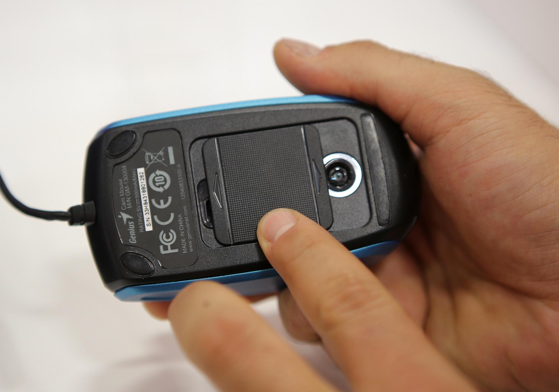 IFA 2013: Mouse Genius cu webcam si cu acumulator
