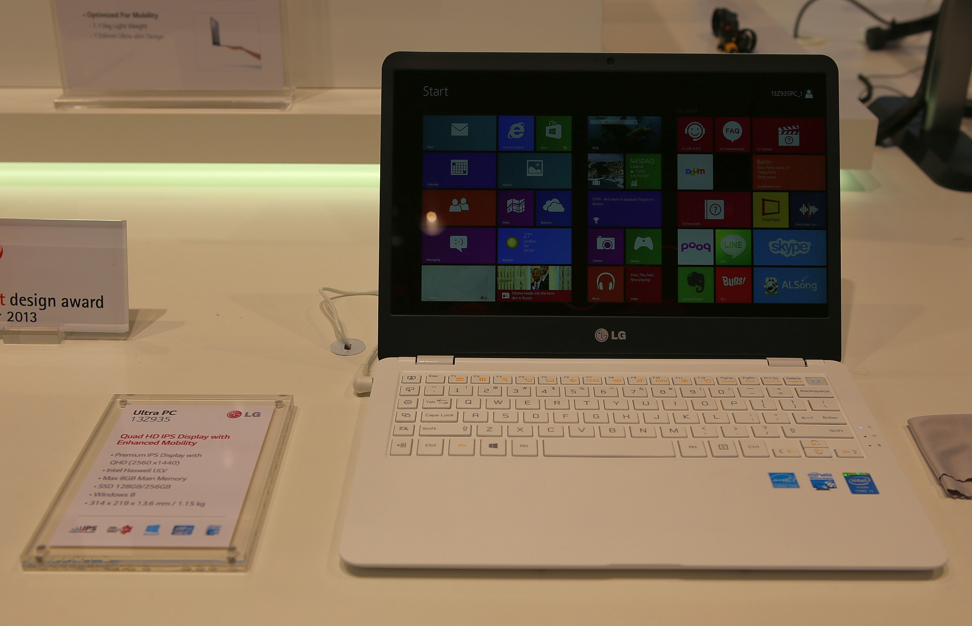 "LG Ultra PC si TabBook: ""Mic si performant"" este definitia unui ultrabook"