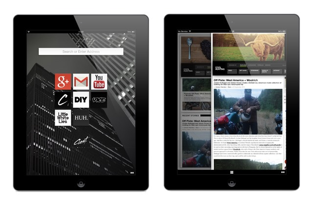 Opera anunta un nou browser iPad intitulat Coast [VIDEO]