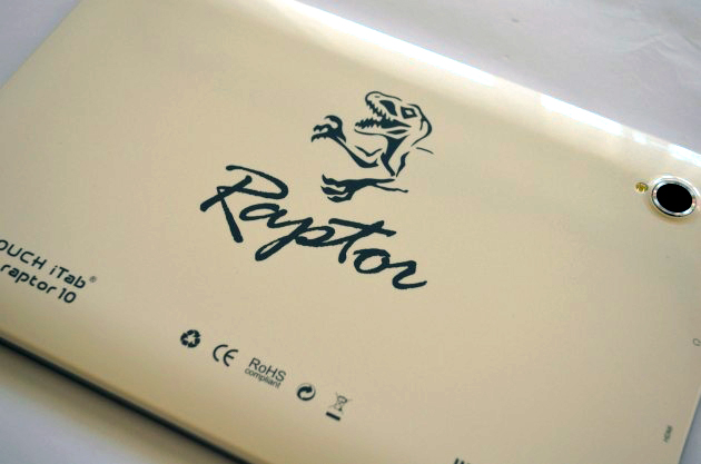 iTab Raptor 10 – O tableta bine inzestrata, sub brand romanesc [REVIEW]