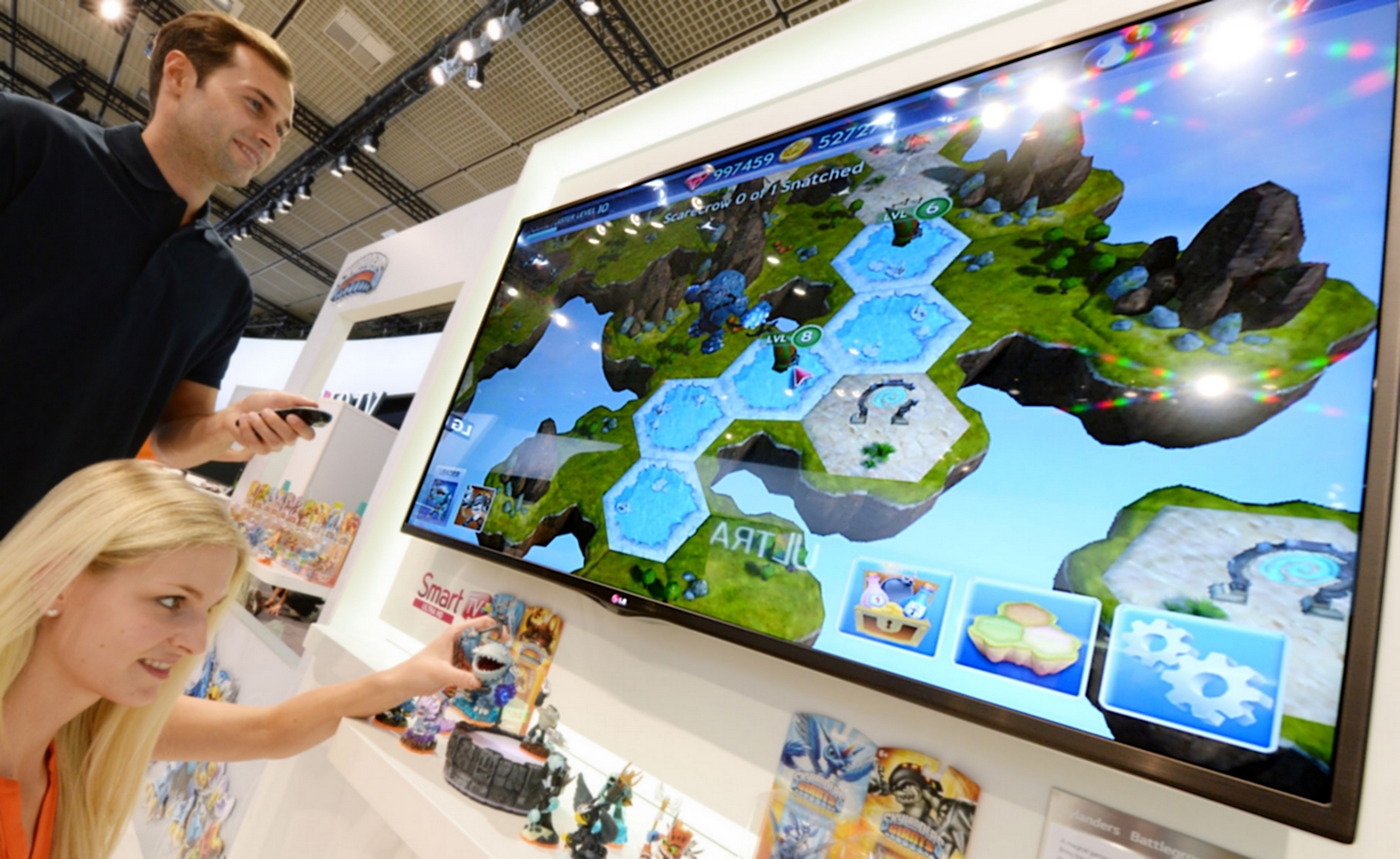 """Skylanders Battlegrounds"" ajunge pe un Smart TV LG"