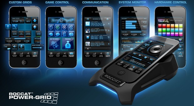 ROCCAT Power-Grid va transforma smartphone-ul intr-un controller [VIDEO]