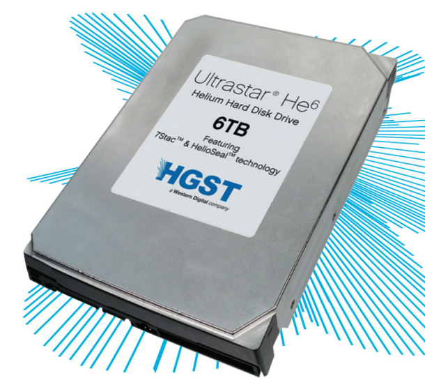 HDD-urile Ultrastar folosesc heliu pentru a maximiza capacitatea