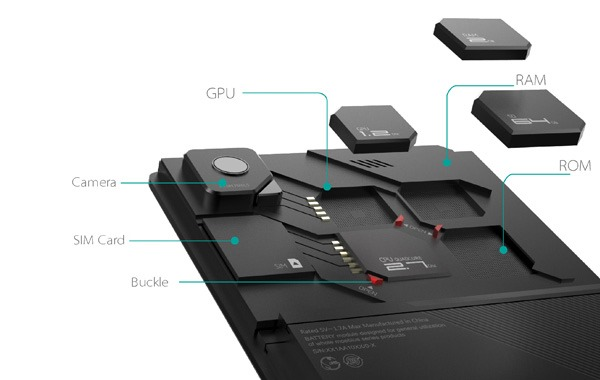 ZTE Eco-mobius, un nou concept de telefon modular aproape de realitate [VIDEO]