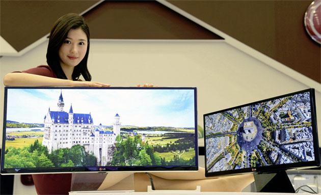 LG va lansa un monitor ultra-wide de 32 de inci cu rezoluție 4K