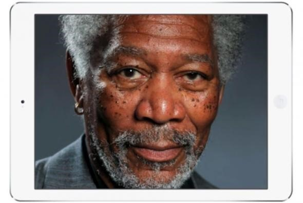 Desenul Morgan Freeman este cel mai deştept marketing iPad Air? [VIDEO]