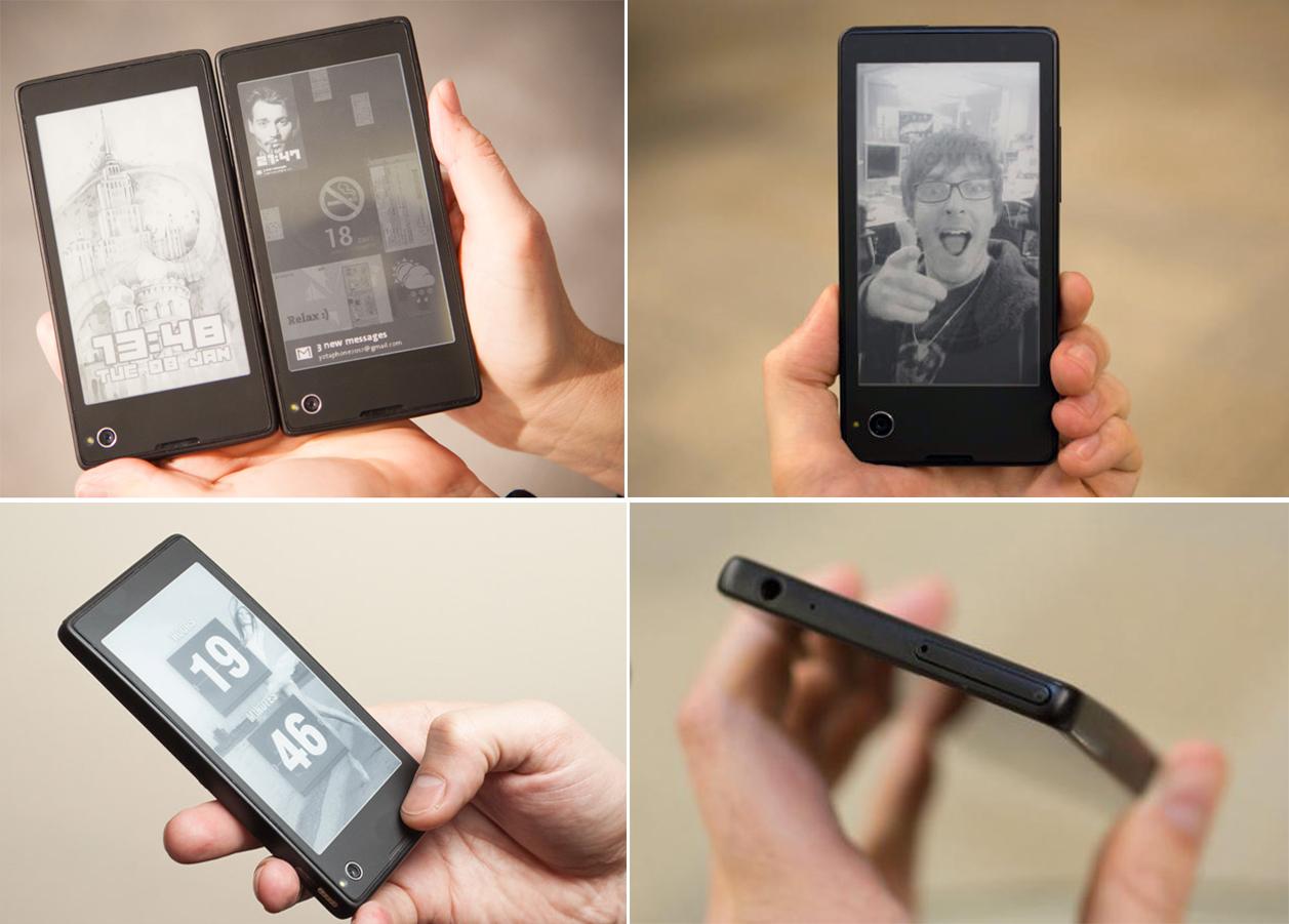 YotaPhone: Ruşii au lansat un smartphone cu personalitate şi două ecrane
