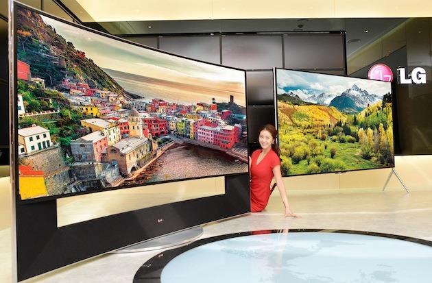Pentru că poate, LG anunţă UHDTV-uri cu rezoluţie 5K la CES 2014