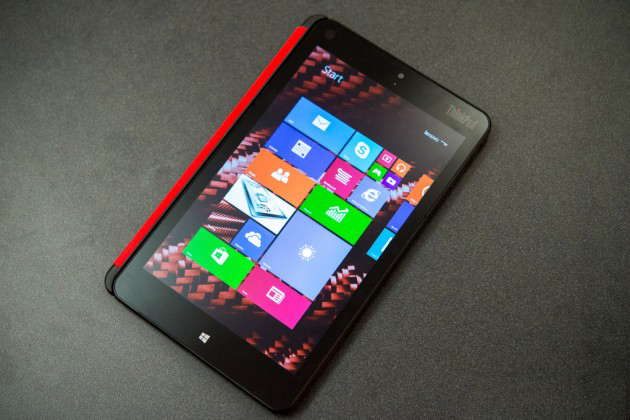 Lenovo ThinkPad 8, Windows 8 la purtător