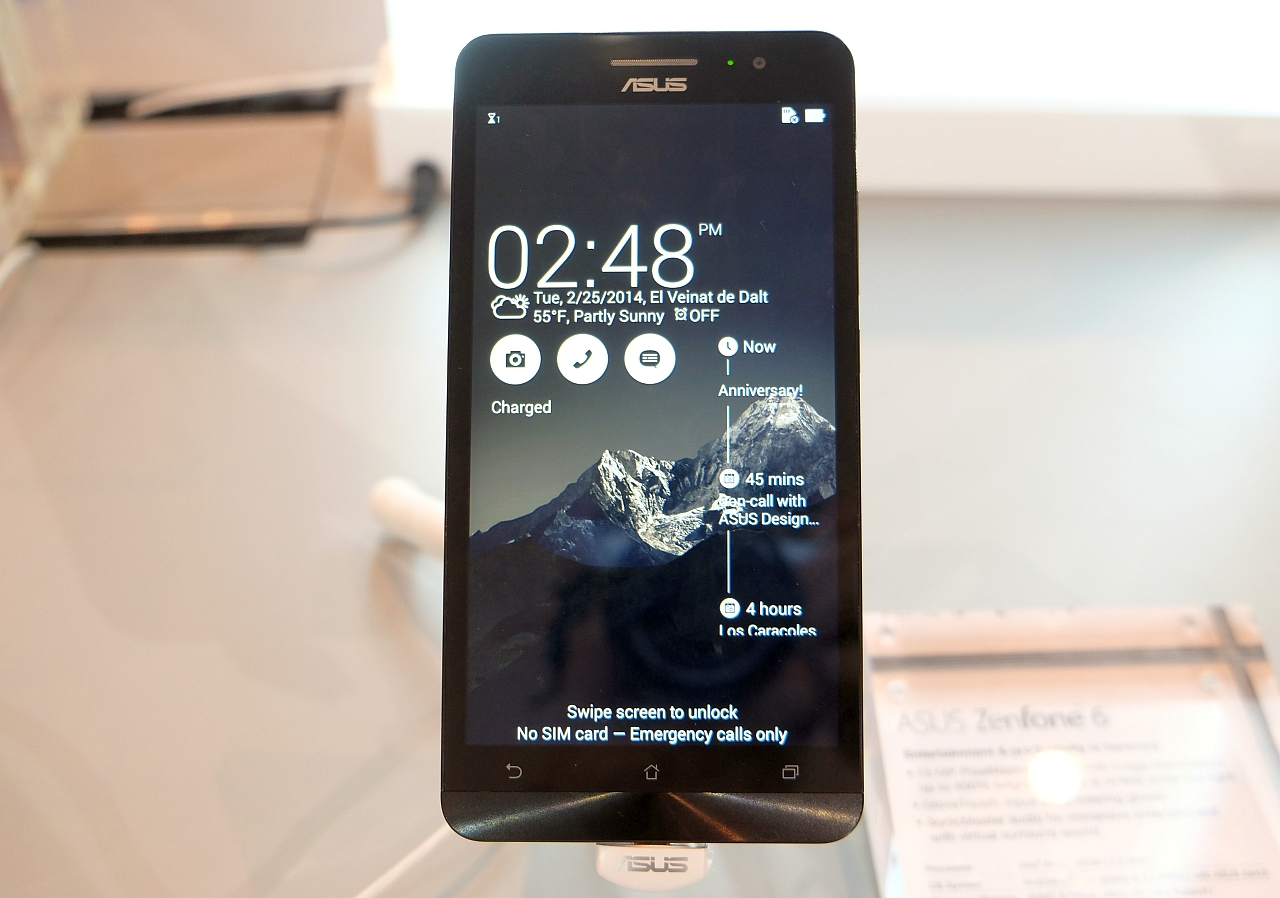 Video Hands-on ASUS Zenfone, de la MWC 2014