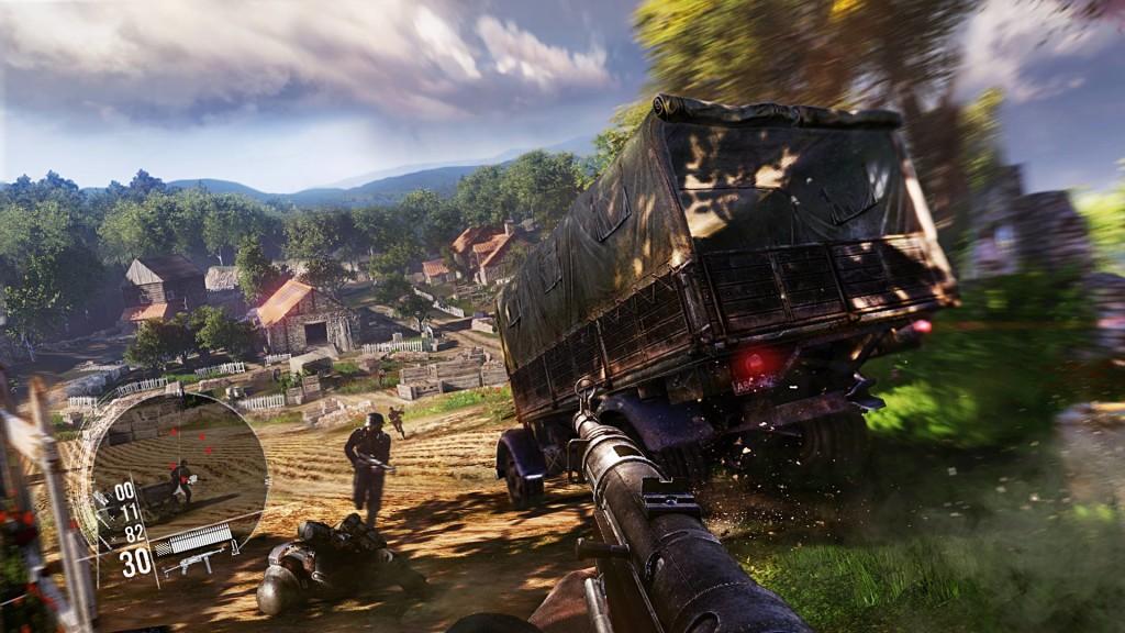 Noi capturi de ecran din jocul Enemy Front