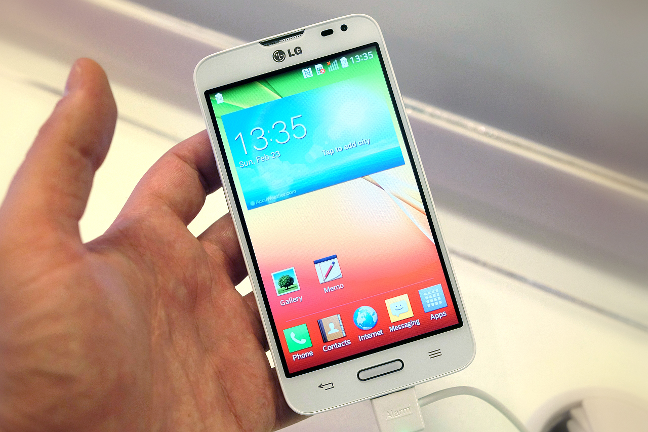 MWC 2014: Video Hands-on LG L70