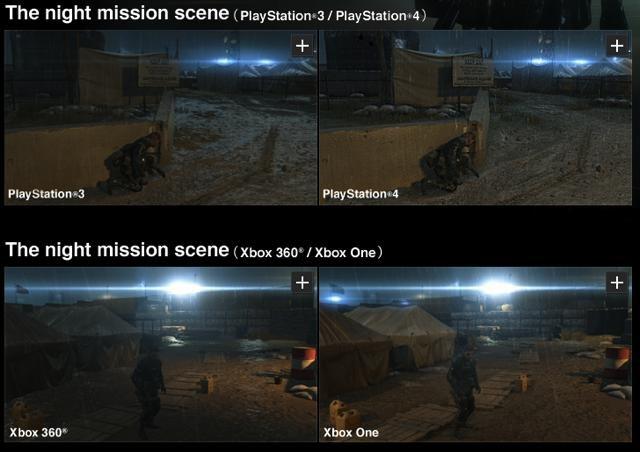 Konami compară performanţa grafică Xbox 360 – Xbox One – PS3 – PS4