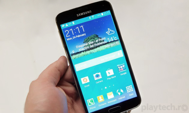 Samsung, în preview Galaxy S5