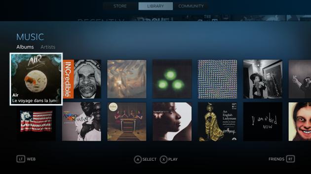 Valve adaugă un player nativ de muzică în Steam Music