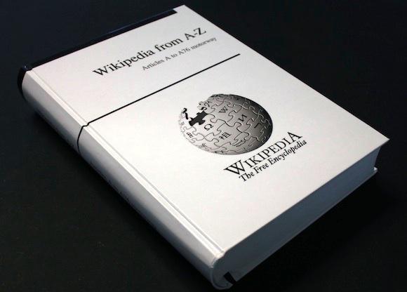 O companie şi-a propus să tipărească Wikipedia