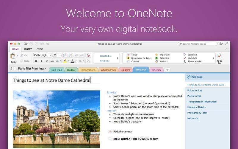 OneNote – O nouă aplicaţie Microsoft gratuită ajunge pe Mac OS X [VIDEO]