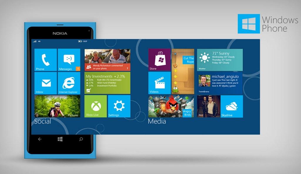 Aplicații WP8: Nokia se laudă şi ironizează concurenţa [VIDEO]