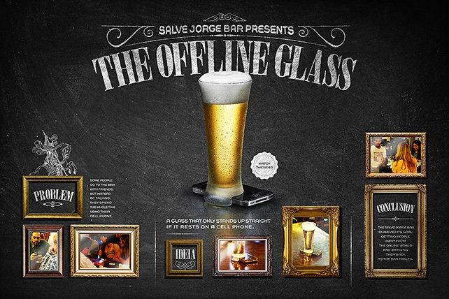 Paharul Offline vă invită la socializare, obligat-forţat [VIDEO]