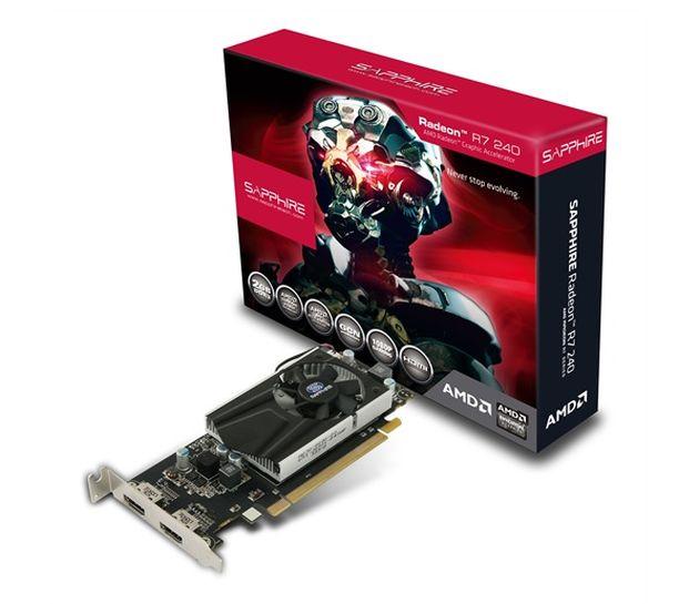 Sapphire anunță modelul Radeon R7 240 Low Profile