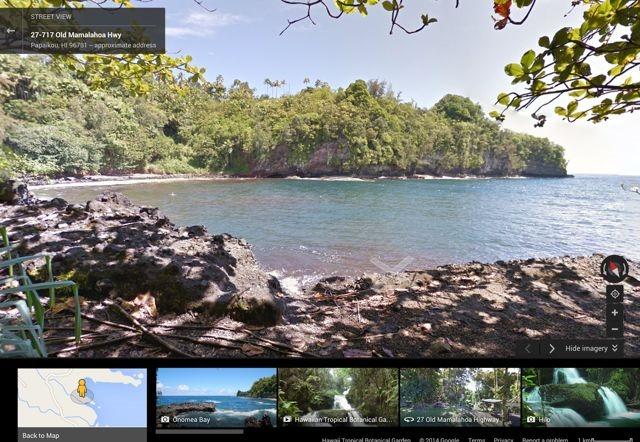 Google Street View te duce în insulele Hawaii