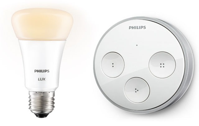 Un controller Philips Hue Tap Switch merge cu energie cinetică