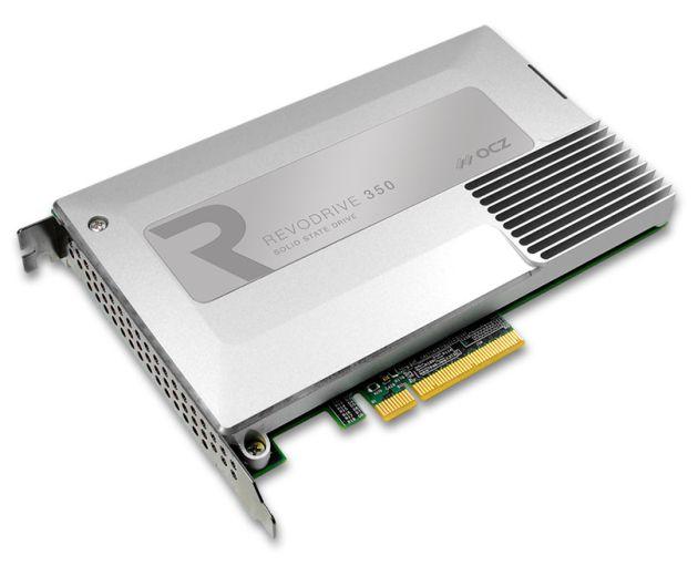 OCZ a lansat un nou SDD ultrarapid, RevoDrive 350 PCIe