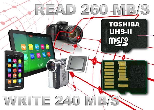 Toshiba are cele mai rapide carduri microSD