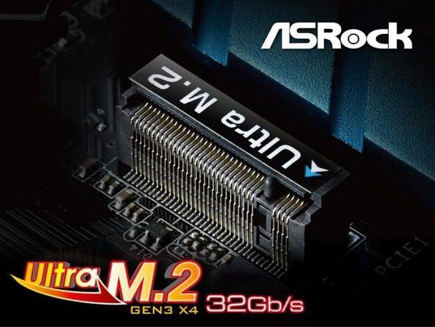 ASRock are cel mai rapid socket pentru SSD-urile M.2