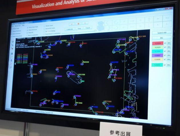 Fujitsu deține tehnologia de a vizualiza mișcarea cumpărătorului într-un magazin