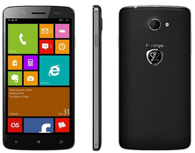 Prestigio MultiPhone PAP5507 Duo este un nou Windows Phone dual sim