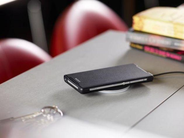 Sony Xperia Z2 primește accesorii pentru Wireless Charging