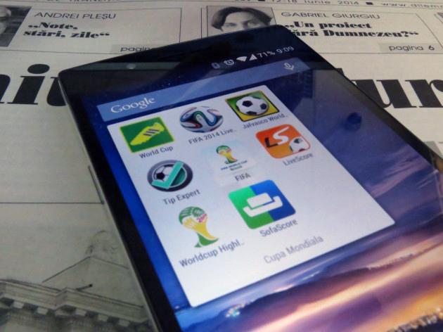 CInci aplicații esențiale pentru Cupa Mondială 2014