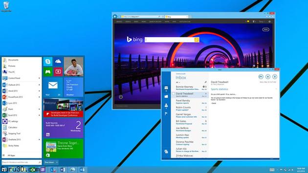 Butonul de start din Windows 8.1, amânat de Microsoft până în 2015