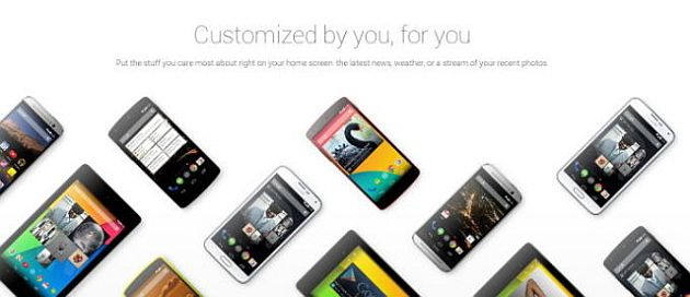 Samsung Galaxy S5 Google Play Edition, pe site-ul Android