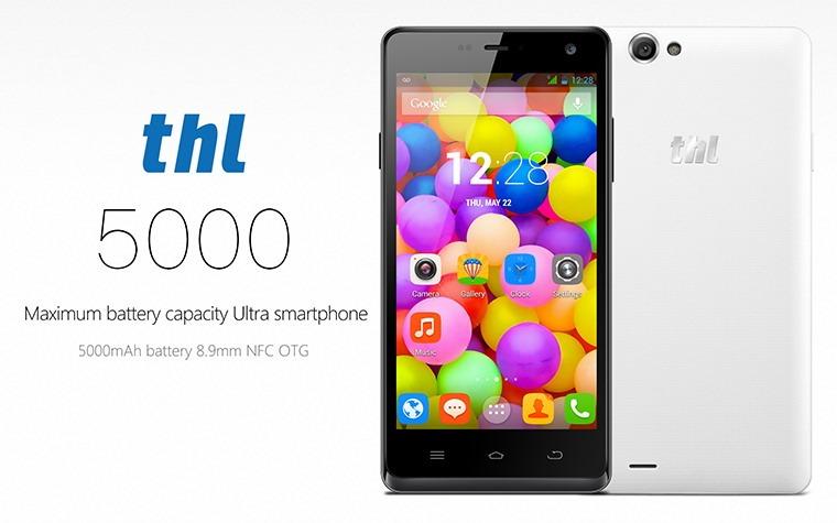 THL-5000 este smartphone-ul cu cea mai bună autonomie