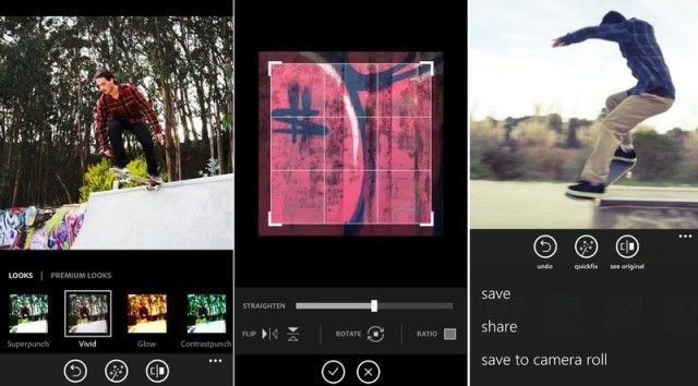 O victorie Microsoft: Photoshop Express vine pe Windows Phone 8