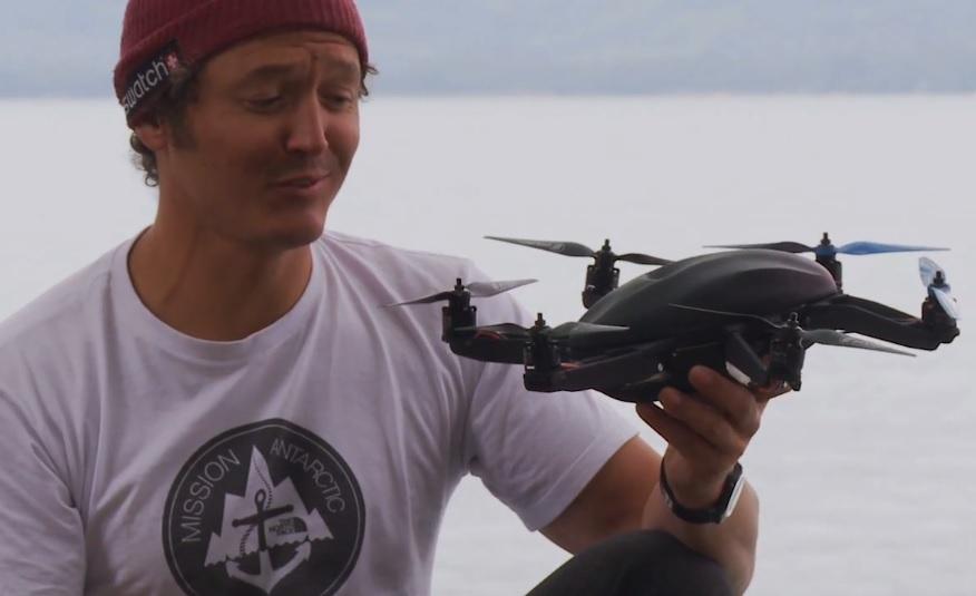Un nou hit pe Kickstarter: drona care îți înregistrează aventurile sportive [VIDEO]