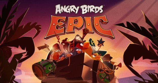 S-a lansat noul joc gratuit cu numele Angry Birds Epic
