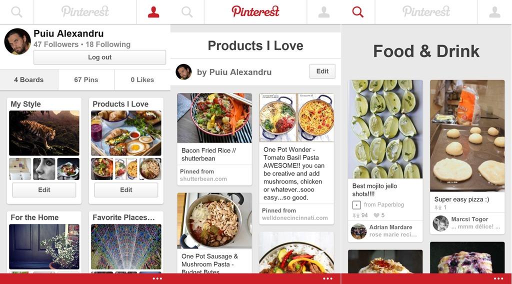 În sfârşit, s-a lansat Pinterest pentru Windows Phone