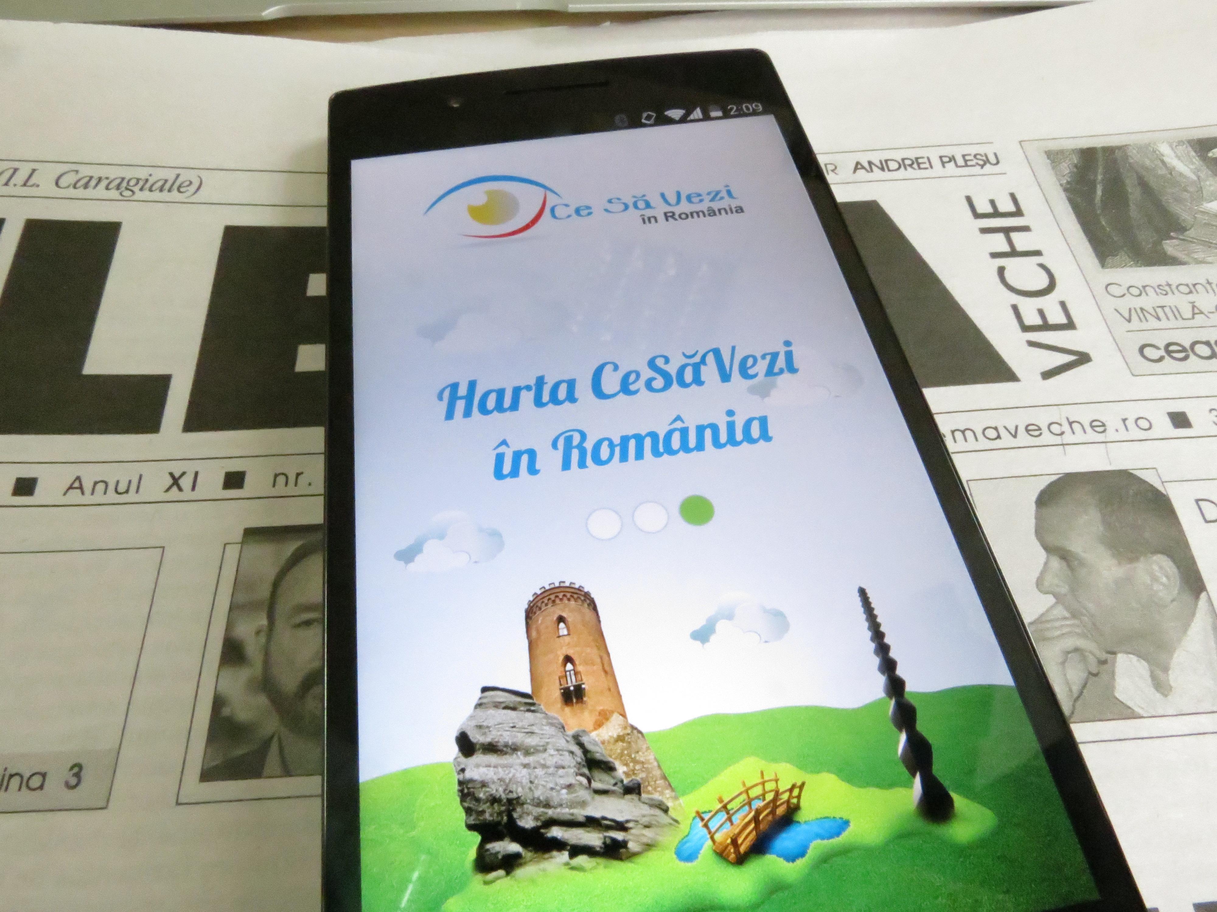 Aplicația de Android care te duce la obiectivele turistice ale României