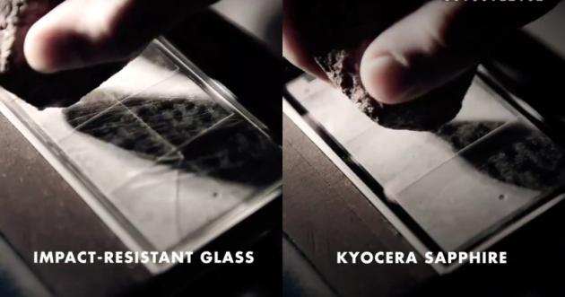 Kyocera plănuiește un smartphone cu display din safir