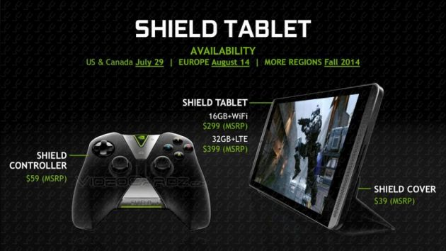 Nvidia Shield, tableta adevăraților gameri: are cel mai bun procesor Nvidia și controller wireless