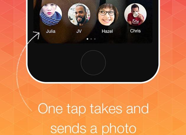 Bolt –  cel mai rapid mod de a trimite o fotografie pe mobil