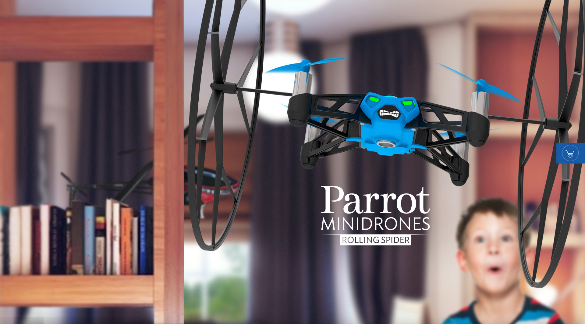 Dronele Parrot Rolling Spider și Jumping Sumo, disponibile la Orange