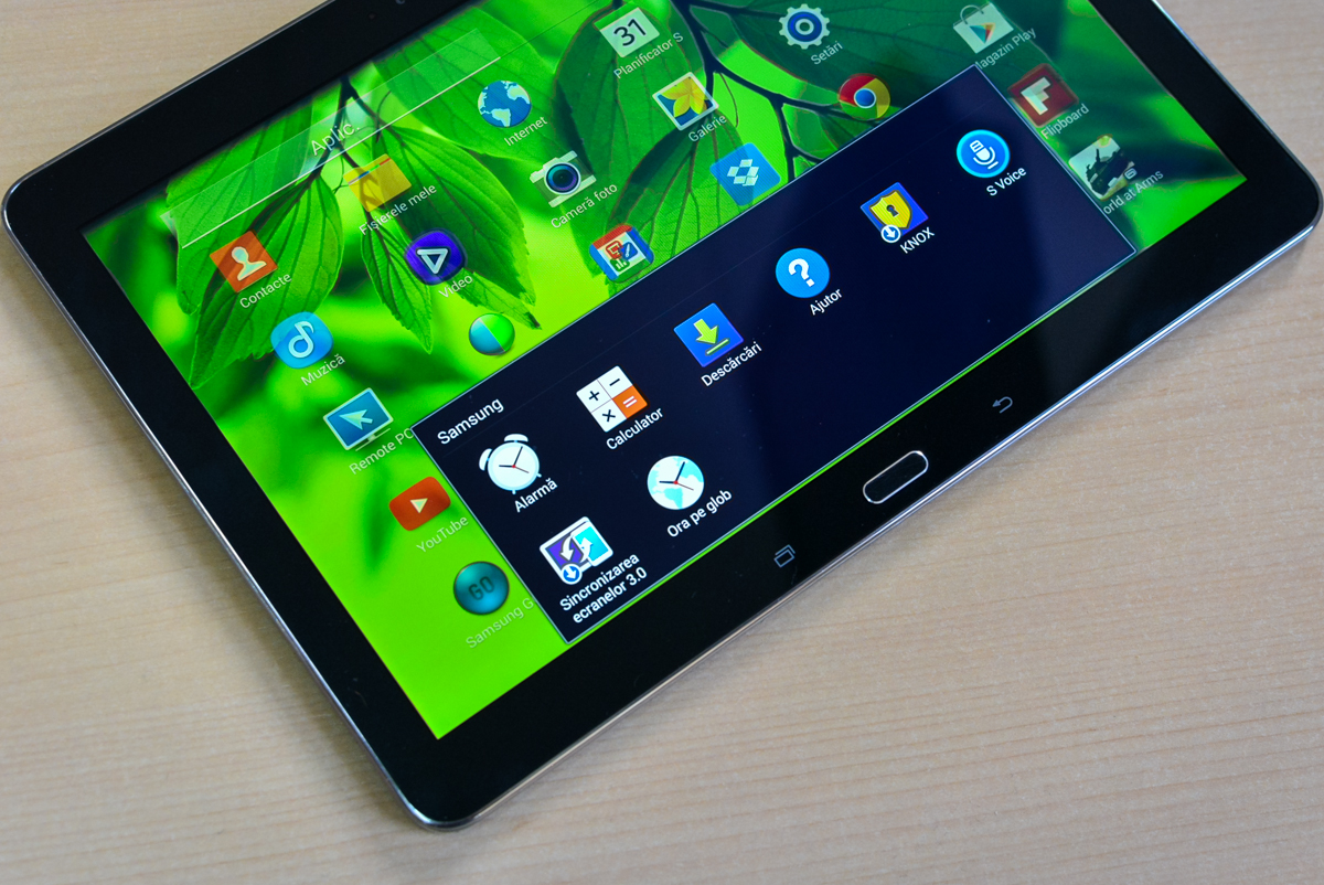 Samsung Galaxy Tab Pro 10 – De business și de entertainment, dar nu iese în evidență [REVIEW]