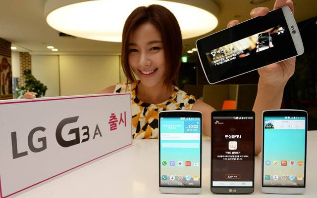 LG anunță G3 A: un G3 mai slab dotat și mai ieftin