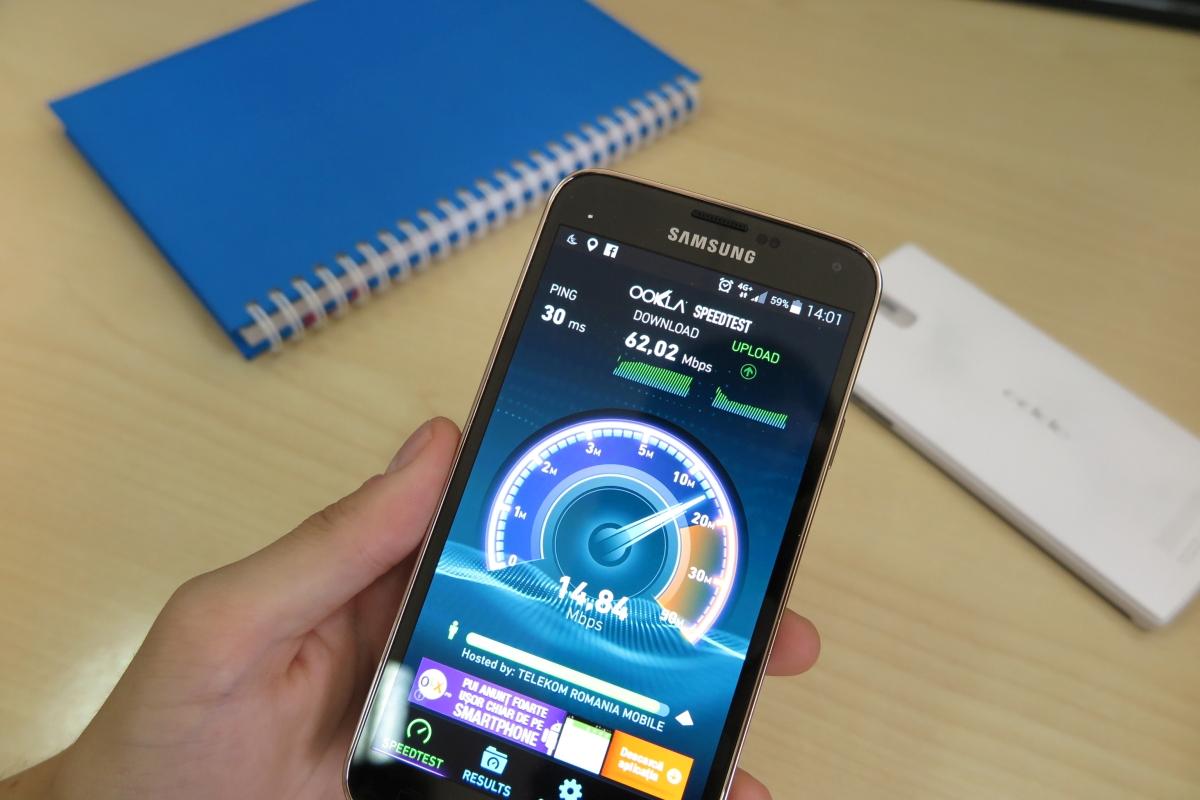 Am testat 4G+ în România pe Samsung Galaxy S5 – care este diferența?