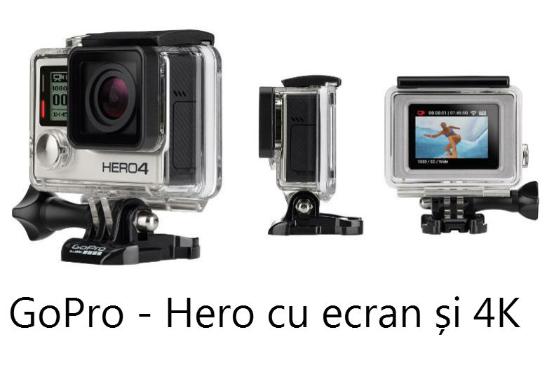 camera de ac iune gopro hero4 este oficial. Black Bedroom Furniture Sets. Home Design Ideas
