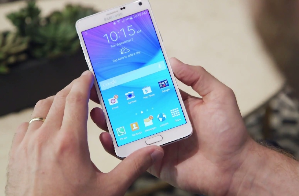 Samsung Galaxy Note 4, disponibil la precomandă la Orange